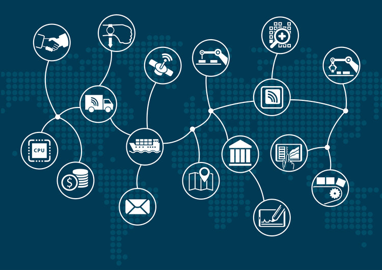 Internet of things and blockchain within shared economy applications